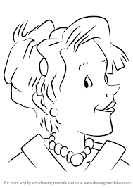 Small Picture Learn How to Draw Mother from Junie B Jones Junie B Jones Step