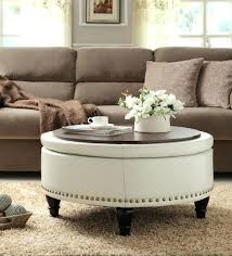 best round storage ottoman ideas on shoe inside circle club coffee table with 4 ottomans full
