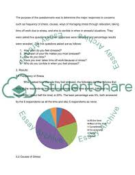 Peoples Management Of Stress Essay Example Topics And