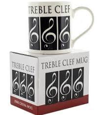 Treble Clef Music Store Little Snoring Gifts Music World Mug Treble Clef