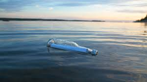 letter in a bottle message in a bottle irish man contacts woman after getting dads