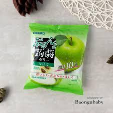 Đồ ăn dặm Nhật cho bé] Thạch Trái Cây Orihiro Nhật cho bé ăn dặm tại TP. Hồ  Chí Minh