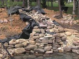 Diy Pond Diy Pond Waterfall Kits Outdoor Design And Ideas