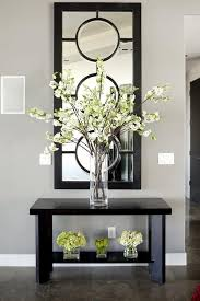 Small Picture Entryway Table Decor Inspiration Glass Foyers and House