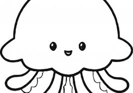 jellyfish drawing for kids.  Drawing Jellyfish Drawing For Kids At Getdrawings  Free  Personal To F