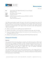 CSAH 12 Extension Purpose and Need Memorandum