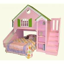cool bunk beds with slides. This Dollhouse Loft Bed Is The Original Bunk First Design Tanglewood Ever Created Cool Beds With Slides N