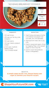 Where To Buy Recipe Cards In Stores No Bake Breakfast Cookies