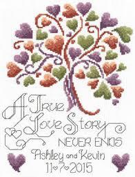 Wedding Cross Stitch Patterns Magnificent Imaginating Love Story Wedding Cross Stitch Pattern 48Stitch