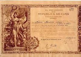 doc diploma signed by the president mario menocal the  image is loading 1920 doc diploma signed by the president