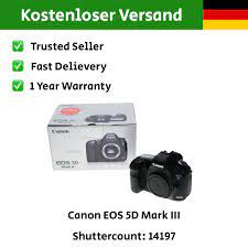 Canon EOS 5D III Kamera Body Gehäuse DSLR Vollformat 5D Mark 3 OVP -  Hifi-Steinert