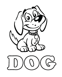 Wonderful Coloring Pages Of Dogs Baby Dog Coloring Pages Page Dogs