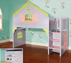 wonderful house bunk bed 10 0300 doll stair stepper no under copy