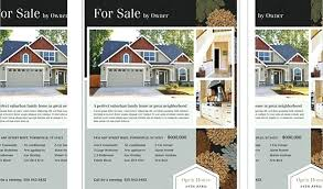 Real Estate Brochure Template Word Free Real Estate For Sale