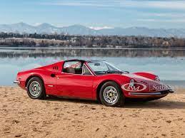 1974 Ferrari Dino 246 Gts By Scaglietti Arizona 2020 Rm Sotheby S