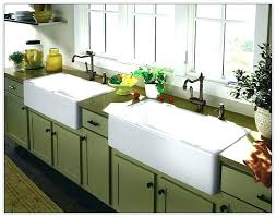 farm sink top mount farmhouse awesome a front throughout 8 inch kohler 36 stainless steel thro