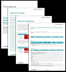 Information Assurance Vulnerability Management Report Sc