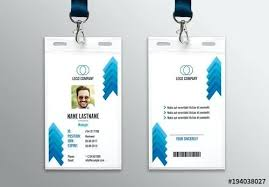 company id card templates 8 best company id card templates ms word template layout psd