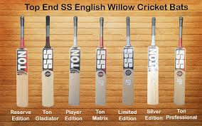 Top End Ss English Willow Cricket Bats Khelmart Org Its