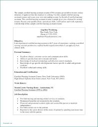 cna resume skills resume nursing assistant sample resume