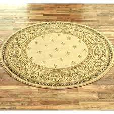 7 ft round rug 6 feet foot blue decoration woven 4 by area rugs x 9