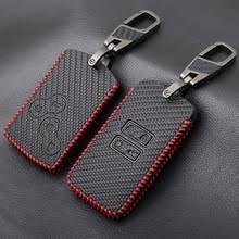 Кожаный <b>чехол</b> для <b>ключей</b> из углеродного волокна для <b>Renault</b> ...