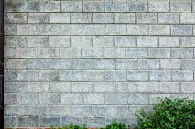 how to build a cinder block or concrete