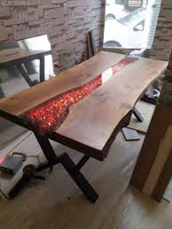Tabletop Design Ideas 37 Newest Resin Wood Table Ideas For Home Furnitures Wood