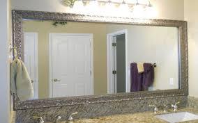 Simple 25 Bathroom Framed Mirrors Designs Inspiration Crafty