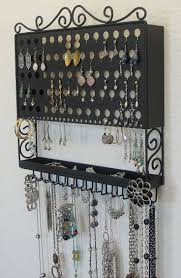 Hanging Necklace Organizer 1308 Best Jewelry Display Ideas Images On Pinterest Jewelry