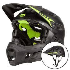 Bell Downhill Mtb Helmet Super Dh Mips Matte Gloss Black