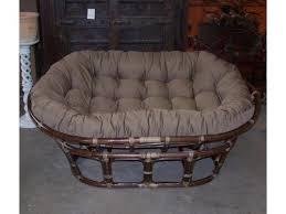 double papasan chair cushion