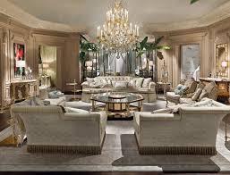 italian furniture designs. Luxury Italian Living Room Interior Design By Provasi With Elegant Chandelier - The Beautiful Furniture Designs