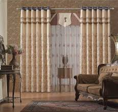Patterned Curtains Living Room Living Room Astonishing Image Of Living Room Decoration Using