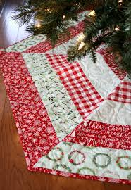 Quilted Christmas Tree Skirt Pattern New Design Inspiration