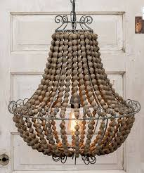 beautiful 133 best lighting images on chandeliers lampshades and for wood bead chandelier