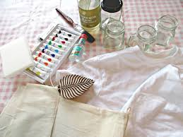 in this tutorial we make our own brilliant diy fabric paint from acrylic paint simply by