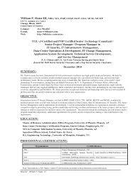 Cissp Resume Example