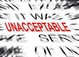 「unacceptable」の画像検索結果