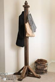 Make Standing Coat Rack Coat Rack Best 100 Coat Tree Ideas On Pinterest Diy Coat Rack 9