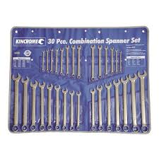 Spanner Size Chart Imperial Combination Spanner Set 30 Piece Spanner Sets 49