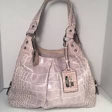 Limited Ed. Coach Madison Crocodile Embossed Hobo