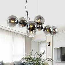 <b>Nordic</b> Restaurant Pendant Lamps Post <b>Modern Molecular</b> Magic ...