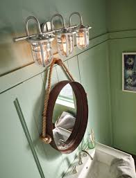 wake up your senses in the morning with a bathroom lighting fixture that wows