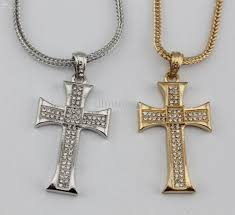 whole hip hop jewelry men jewelry bling bling necklace iced out cross pendant rapper s faveriote necklace charms charms for bracelets from dhmoney