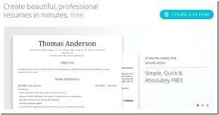 Resume Builder Template Microsoft Word Make Free Resume Online Template