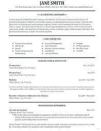 Example Of Accountant Resumes Sample Of Accountant Resume Albertogimenob Me