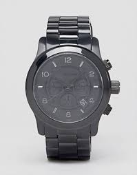 michael kors shop michael kors for men s watches michael kors michael kors mk8157 oversize black chronograph watch
