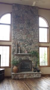 Stone Fireplace Remodel Building A Stone Veneer Fireplace Tips For Design Decisions