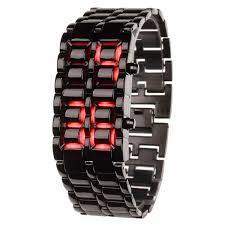 2015 black bracelet wristwatch men stylish 8 led light digital casing material stainless steel wristband material stainless steel suitable for adults gender men style wrist watch type fashion watches display digital